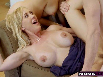 MomsTeachSex – BigTit Aunt Brandi Love Helps Teens Fuck S8:E8