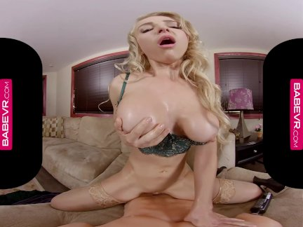 BaBeVRcom Credit Card Makes Big Titted Babe Alix Lynx Horny As Hell