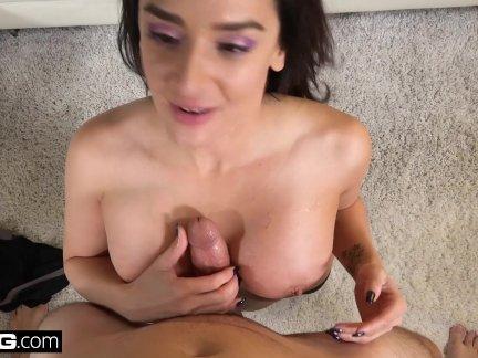 Real MILFs - Latina MILF Sheena Ryder twerks on a dick