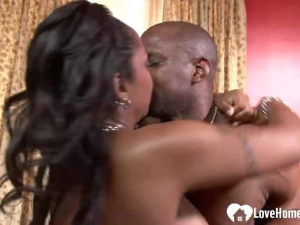 Black chick knows how to handle his dick