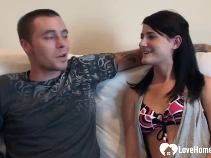 Sexy Girlfriend Loves to Get shafted on camera