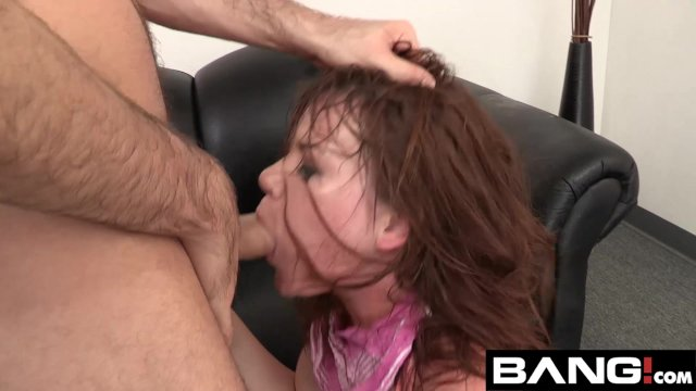 BANG Casting: Alison Rey Licks Up Her Own Cum - sex video