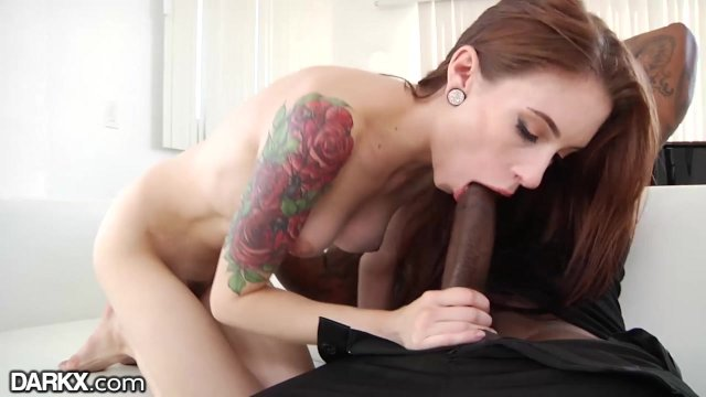 DarkX Skinny Babe Anal Riding Big Black Dick - sex video