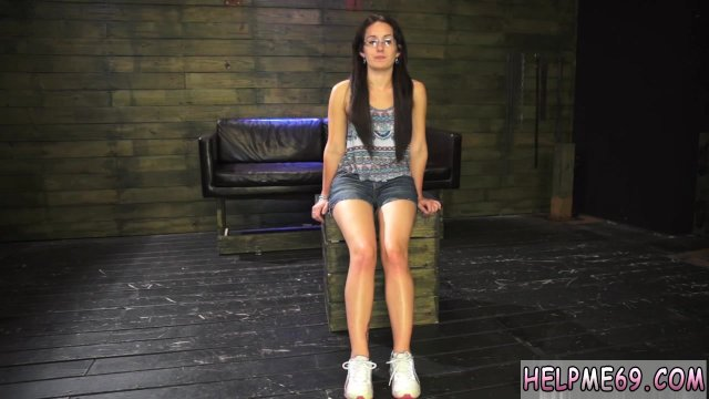 Leather bondage Helpless teen Evelyn has - sex video