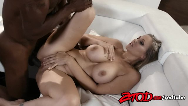 Busty Blonde Julia Ann Gets Fucked Interracially - sex video