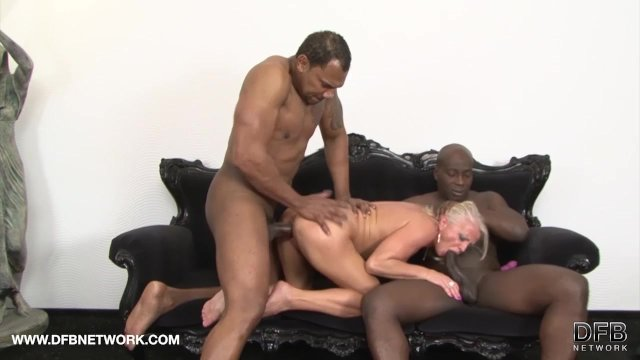 Mature drilled by black guys in hardcore interracial Anal and face fucked - sex video