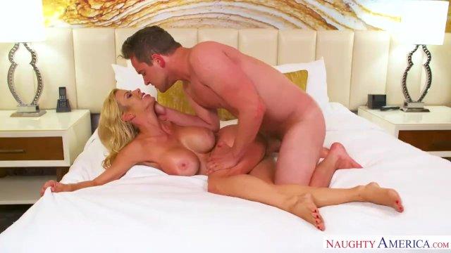 Mom Alexis Fawx In Yellow Panties Fucks Son - sex video