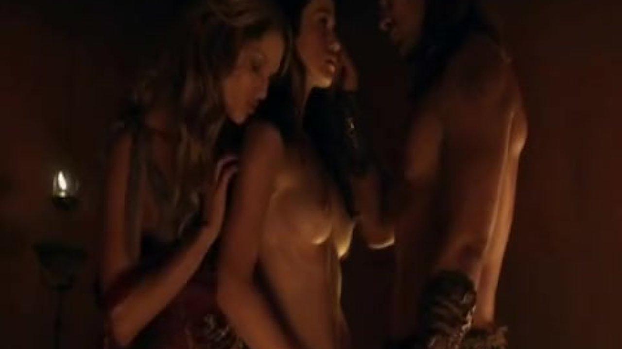 Huge black titties movies threesome