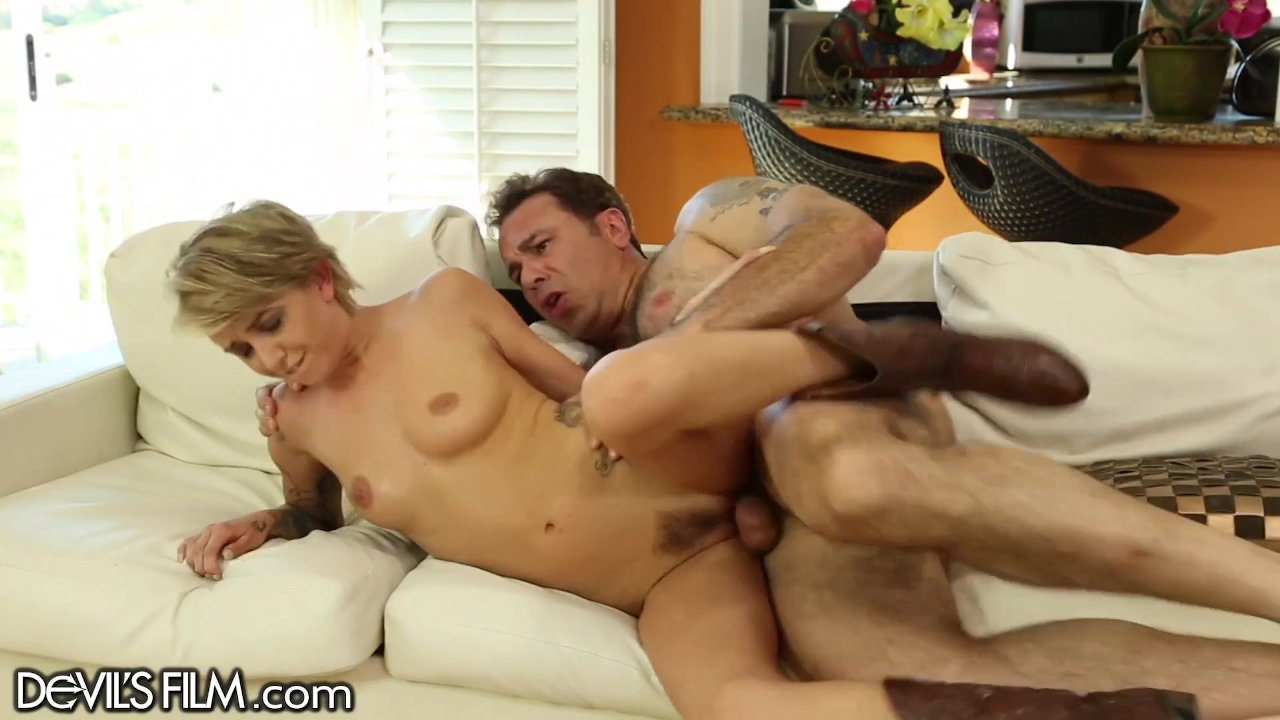 DevilsFilm Teen Rides her Step-Uncles Cock