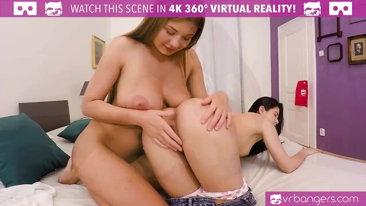 VR PORN - Two Lesbians Licking Each Other Pussies