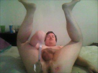Spanking spoon anus