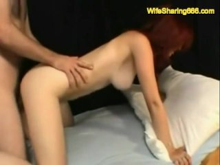 Wife shared and riding cock...