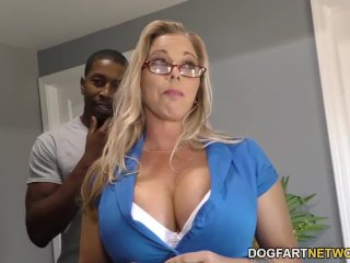 Amber Lynn Bach gets gangbanged and creampied...