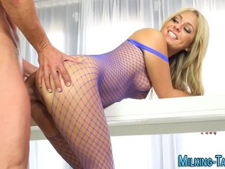 Lingerie masseuse jizz