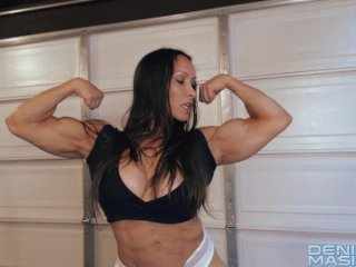Denise masino my sweaty workout video...