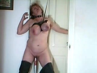 Whorexpose breast bondage