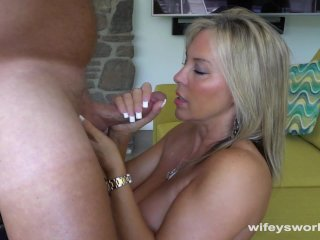 Wifey Loves To Swallow Cum...