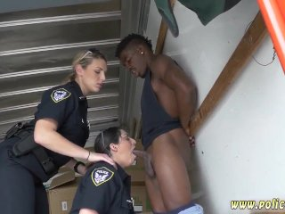 Cheating and big tits police orgy...