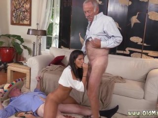 Nylon threesome He invited her over to...