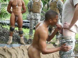 boot camp besties enjoying a lucky cock