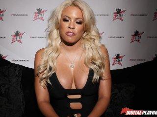 DP Star 3 – Luscious Latina Big Tit Luna Star Deep Throat Blowjob