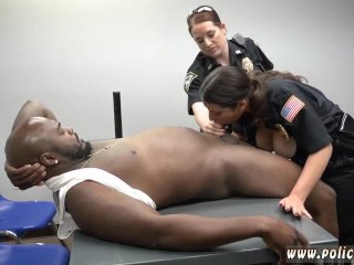 Ebony love blowjob Milf Cops...
