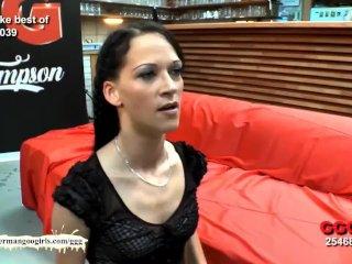 Bukkake time apropos sexy skinny Aymie