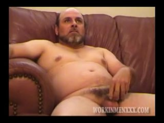 Homemade Video of Adult Amateur Guy Jacking Off