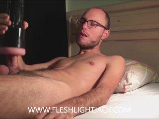 Hot Fleshlight Fuck And Cum
