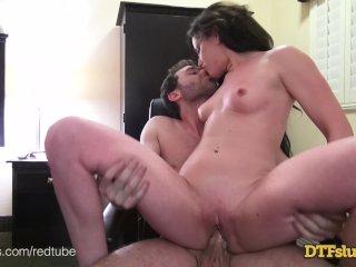 DTFSluts - Jennifer White At Home Anal Fuck Tape
