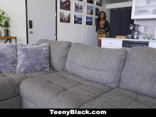 TeenyBlack – Big Titty Petite Ebony First Porn Shoot