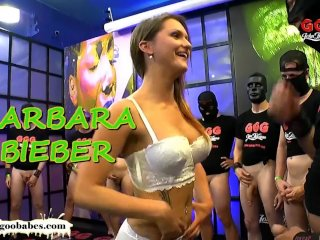 Stunning MILF Barbara Gets Gangbanged – German Goo Girls