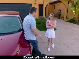 ExxxtraSmall – Hot Skinny Teen Ass Fucked To Pass Driving Test