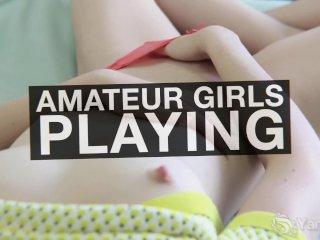 Redhead Yanks Girl Jennavive Marie Masturbates