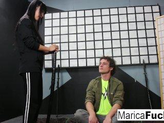 Master Marica Teaches Ninja Student Robby The Way