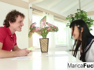 Marica Gets An English Lesson With A Big Dick Twist
