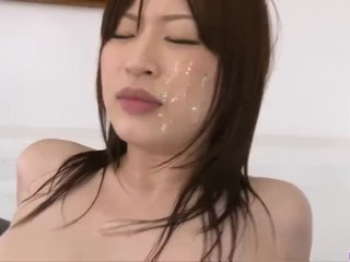 Special xxx hardcore video in group with Riko Oshima