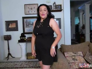USAwives Horny Chunky Grandma Toy Ill-use