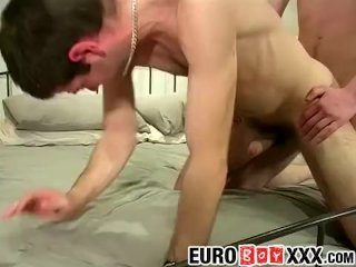 Mark W and Zak suck each others cocks