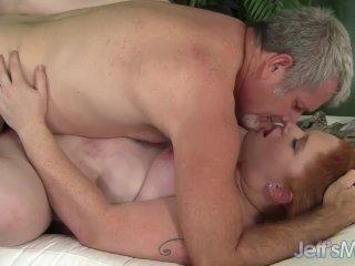 Fat girl Scarlett Raven takes fat cock