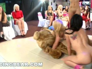 Šialené strip párty s medvedíkom