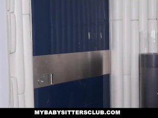 MyBabySittersClub – Horny Blonde BabySitter Fucks Boss
