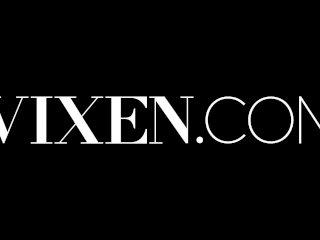 VIXEN Married Couple Seduces Babysitter