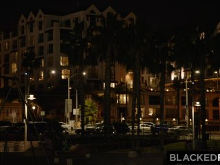 BLACKEDRAW Kinky girlfriend rims black stud on vacation