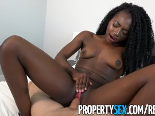 PropertySex - Dude cheats on girlfriend with petite exotic roommate