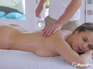 PornPros Dripping wet pussy massage and fuck for busty Dillion Harper