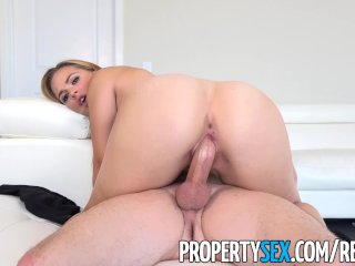 PropertySex - Supportive man helps girlfriend feel better