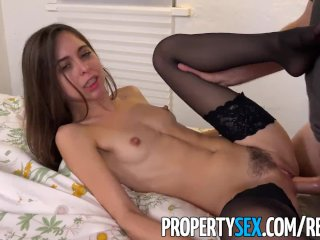 PropertySex - Surfer dude fucks insanely hot landlady