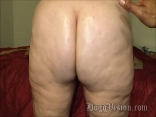 Ass Worship and Dry Fist Big Butt MILF