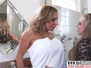 Selfassured Step-Mother Shawna Lenee And Richelle Ryan In Threesome